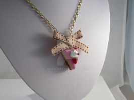 Miniature Strawberry Necklace by Meow-Box