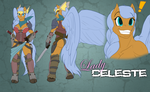 LS-CM, Lady Celeste reference by Toughset