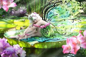 Waterlily Fairy by martinagro