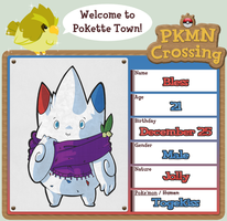 PKMN Crossing - Bless by Crimson-Jazz