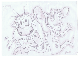 Ren and Stimpy by ConkerTSquirrel