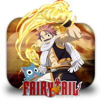 Fairy Tail Anime Folder Icon by StevenSelim