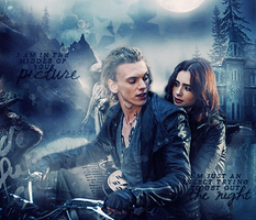 Jace and Clary by thatslebore