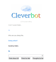 I hate cleverbot!!! by Froncake
