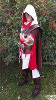 Ezio Auditore cosplay by Oderian-Silverarrow