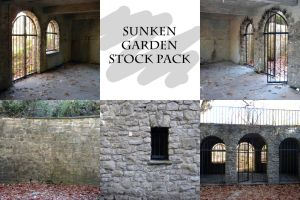 Sunken Garden Stock Pack by kpep