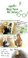 Harry Potter and the Meme of Drawings by Sildesalaten
