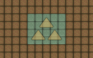 Pyramid Triforce Tiles Wallpaper Pack by BLUEamnesiac