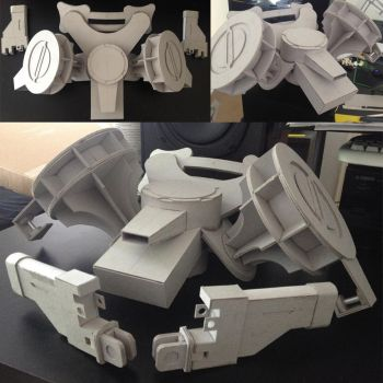 Attack on Titan: 3DMG WIP 1 by Gregggle