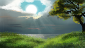 Speed Painting by WafflezNFries