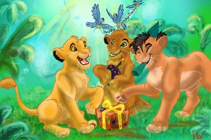 Happy Birthday Simba by Frodo-Lion