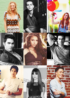 TVD and TW icons by AnGel-Perroni
