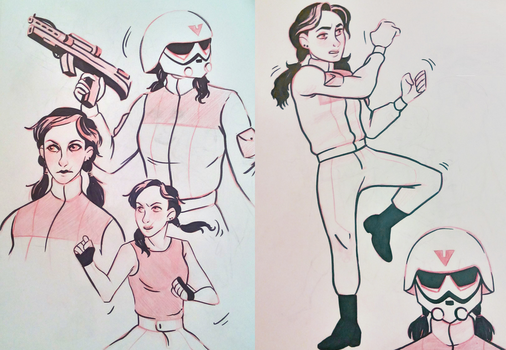 Sketches by SlytherinLera