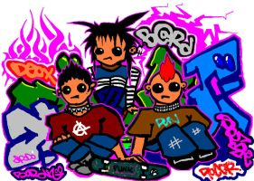 Punks by deox87