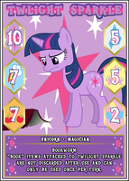 MLP:FiM Card Game: Twilight Sparkle - Bookworm by PonyCardGame