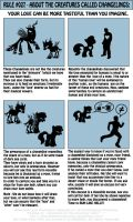 The Equestrian/Human Manual - Rule 027 by INVISIBLEGUY-PONYMAN