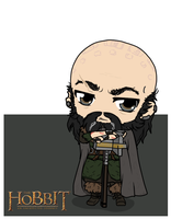 The Hobbit - Dwalin by Mibu-no-ookami
