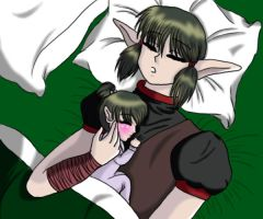 Kisshu and Yuka by Eleanor-Devil