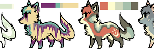 Song Adoptables Batch 2 by Anni-Adoptables