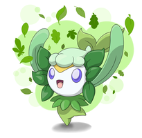 Dryad forest nymph by pysio20