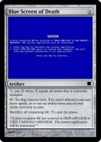 MTG: Blue Screen of Death 01 by Gerald156