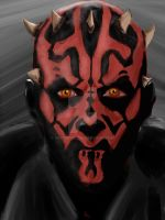 Darth Maul by KettuFox