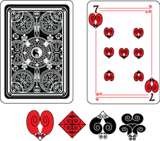 Seven of Hearts by Senshisoldier