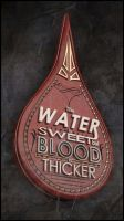 The Water is Sweet But Blood is Thicker by srinboden