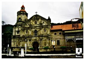 Pakil Church by toolboxxx