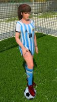 Hitomi Argentina Outfit by Deluwyrn