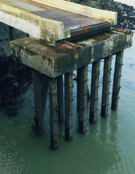 Harbour wall 002 by weaselspit