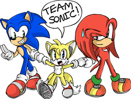 Team sonic :D by SonicsChilidog
