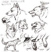 Wolf - references by TehChan