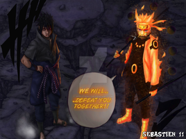 Naruto and Sasuke by SEBASTIEN11