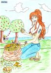 Nami The Navigator : One Piece by Katong999