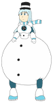 SnowWoman.EXE by Dimensional-Expander