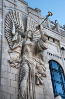 Bass Hall Angel by DFWHDR