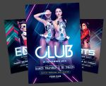 Electro Club Flyer Bundle by styleWish