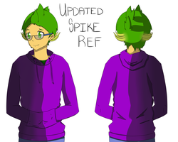 Updated Spike Reference by JayBeanieMags