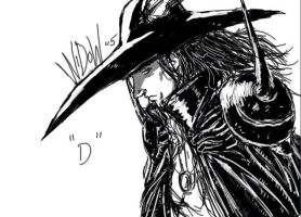 Vampire Hunter D by Archonyto