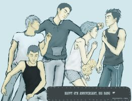 6 years of Big Bang by sharp-eyed