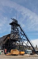 Orphan Girl Mine Headframe by hunter1828