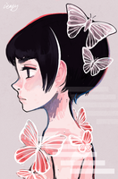 Butterfly by ieafy