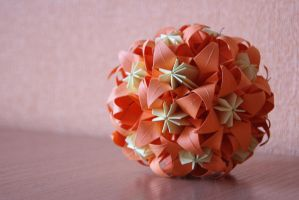 Kusudama 8, second photo by happy96