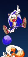 Sonic 3 special stage by Ashuras2000