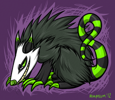 Monster Possum by Kitsune--Rin