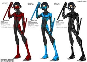 Nightwing Redesign by Kittyotic