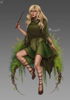 Commission: Narallyndra by barn-swallow