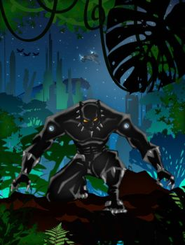 Black Panther by DarqueChyld