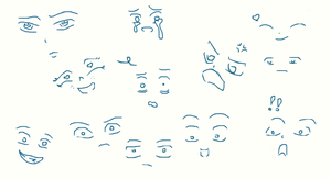 practice with faces by toastles